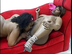 TWO THICK LESBIANS TOPDOG