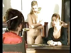 Schoolgirl Mom Spanked