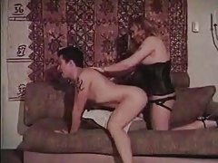 Role Reversal Man Gets Fucked With Strap On