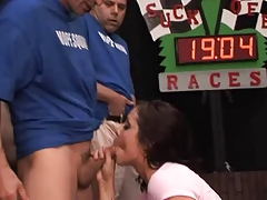 Blowjob race Blue team