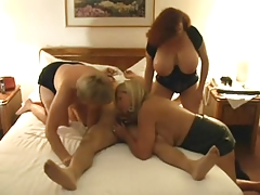 Hot Matures Triple Fun