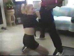 Small White Girl Takes A Bbc