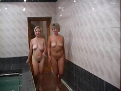 Russian Matures Served On Sauna 2
