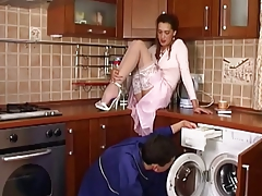 Russian Women Entice Young Guy For Fucking By Blondelover
