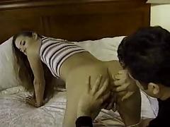 Cheyenne silver gaping anal