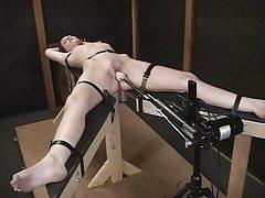 Bondage And Fucking Machines Hailey 11