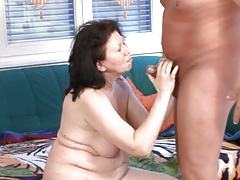 Hot mom vs cock
