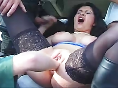 Public Fisting Threesome In Truck