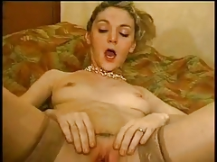 Screaming MILF Fisted