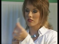 Female Nurse Starts A Hot Hospital 4 Way