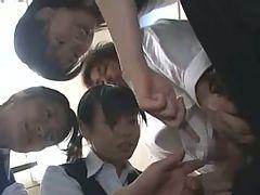 Japanese Cfnm Hj Censored