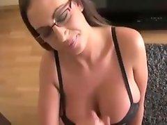 Busty 10 Topless Cum Swallower Girl