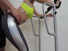 Amateur Couple Roleplay A Gym Fuck