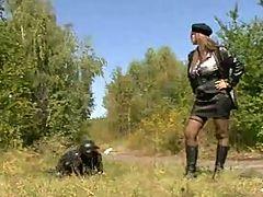 Big Tits Secretservicegirl Soldier