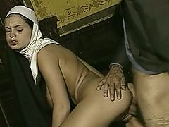 Busty Nun Gets Fucked In Study Poor Sound