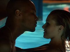 House Of Lies Kristen Bell Interracial Sex Pool Scene