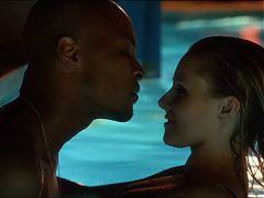 House Of Lies Kristen Bell Interracial Sex Pool Scene