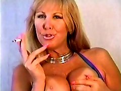 Pam Smoking And Fingering Pussy