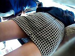 Boso Sa Bus Stop 2 Office Girl Clip 2