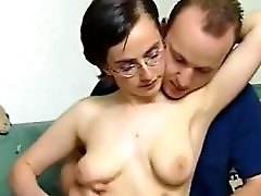 Ugly Teen With Saggy Tits In Casting German