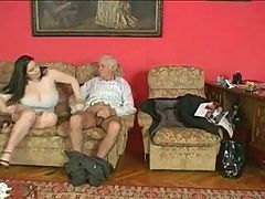 Old Man Fucks A Hot Bbw