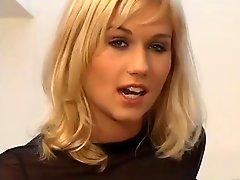 Blonde Sarah Gets It Up The Ass