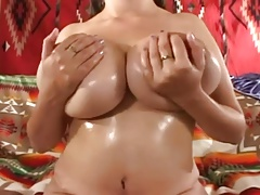 Denise Plays With Her Big Tits