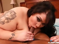 Amazon Bbw Anastasia Swallows And Fucks Big Black Cock