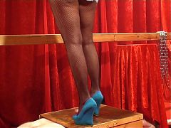 Cock Crush Blue Wedges
