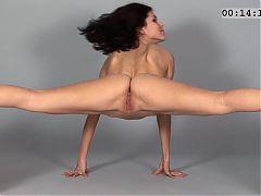 Stretching While Posing