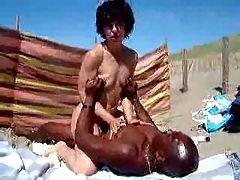 Wife Getting Fucked On Beach 1 Ben