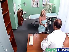 Fakehospital Sexy Blonde Has Full Examination