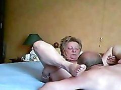 Grandpa Having Cunnilingus To Grandma