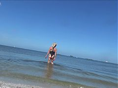 Slut In The Beach