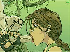 Lara Croft Butlers Bitch Game