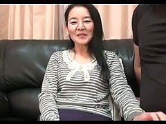 56yr Old Granny Takako Numai Gets Cum Filled Uncensored