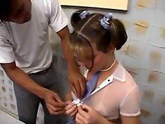 Schoolgirl Shemale