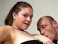 Denise Davies Gets Boobs & Pussy Pounded