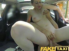 Faketaxi Posh Woman Pays Good Money For A Fuck