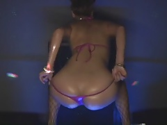 Asian Stripper Dancing Tease 2