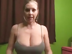 Britney Brooks Getting Milk Out Of Her Big Boobs
