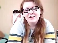 Big Ass Chubby Redhead With Glasses