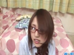Young&nbsp Rino Mizusawa Gets Nasty With Two Tasty Dongs