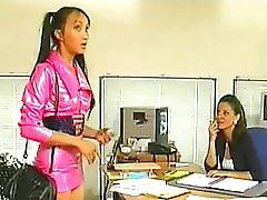 Jennifer Loca Secretary Gangbanged In Factory
