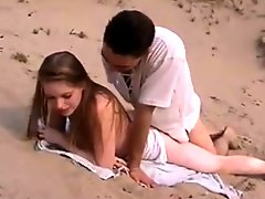 A Dutch Girl Fucked At The Beach