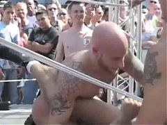 Naked Wrestling In Public