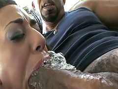 Petite Pussy Stretched Squirts From Monster Bbc