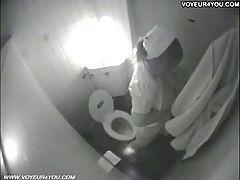 Toilet Masturbation Secretly Captured By Spycam