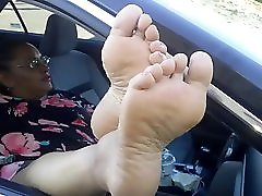 Bbw Foot And Sole Tease