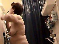Dutch Nude Granny Voyeur Cam
